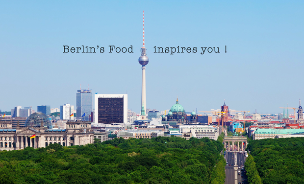 Project visual Berlin's Food inspires you !
