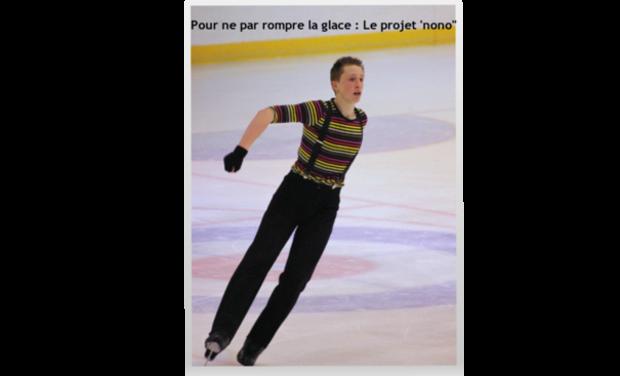 """Visueel van project Pour ne pas rompre la glace : Le projet ''nono"""""""