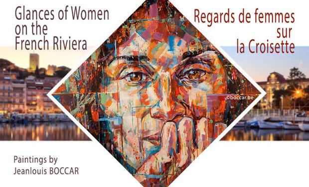 Visuel du projet Regards de femmes sur la Croisette.