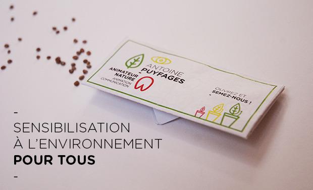 Visuel du projet Sensibilisation à l'environnement pour tous.