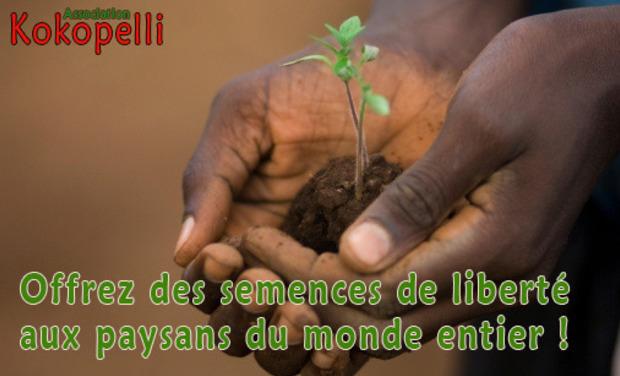 """Visuel du projet La campagne """"Semences sans Frontières"""" de l'association Kokopelli"""