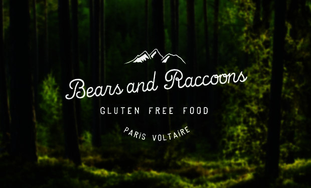 Visuel du projet Bears and Raccoons - Fast Good 100% sans Gluten à Paris