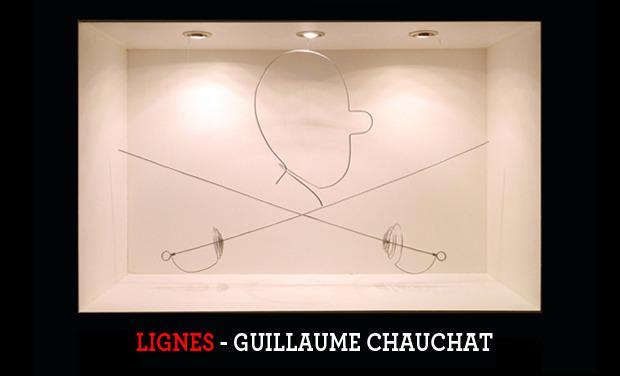 Visuel du projet LIGNES : Guillaume Chauchat s'expose