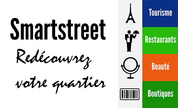 Visuel du projet Avec Smartstreet, redécouvrez vos commerçants