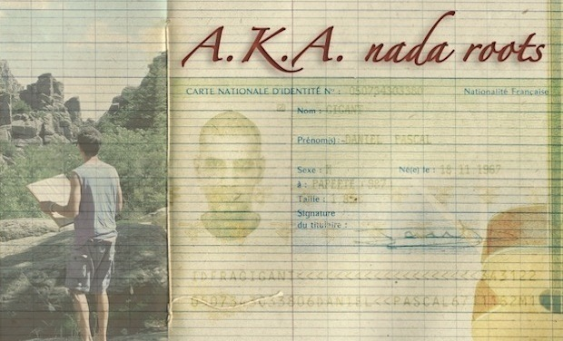 Visueel van project A.K.A. nada roots. Nouvel album