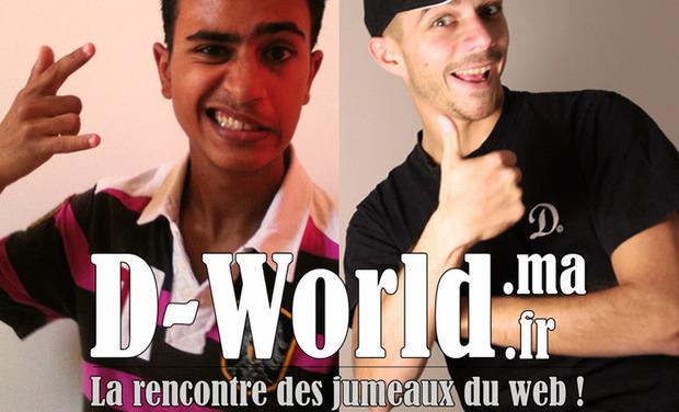 Visuel du projet D-World² : les jumeaux du web ! (Part1)