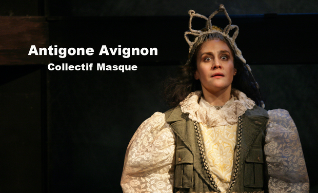 Visueel van project Antigone Avignon (Collectif Masque)