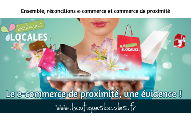 Visuel du projet Boutiqueslocales.fr: Le e-commerce de proximité, une évidence !