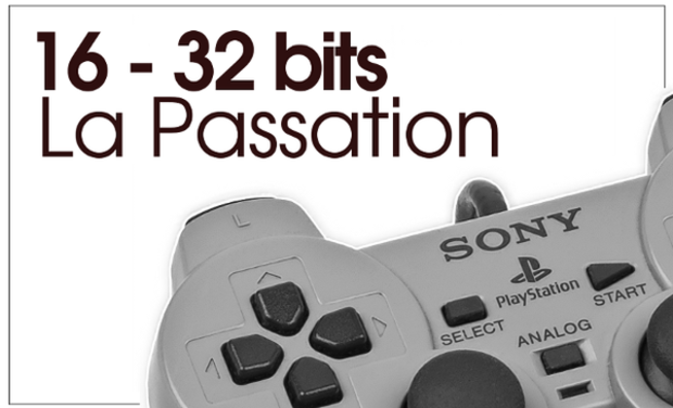 Visuel du projet 16-32 Bits: LA PASSATION (ou l'ascension de Sony)