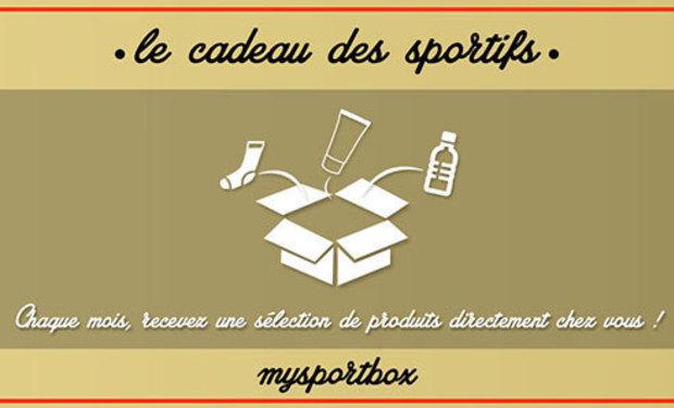 Visuel du projet My Sport Box - Le Cadeau des Sportifs