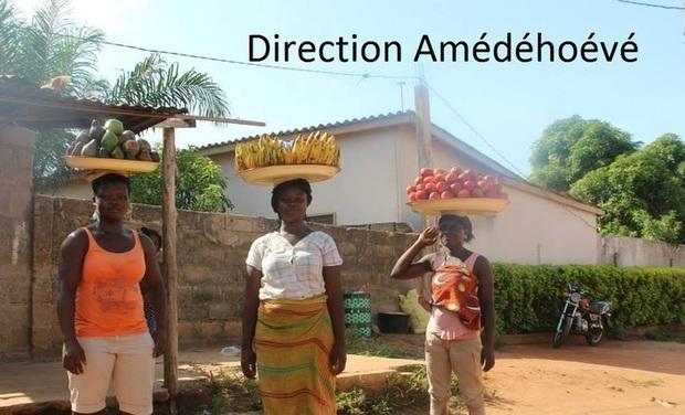 Project visual Four solaire et soutien scolaire au Togo