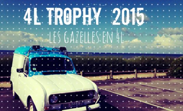 Visuel du projet Les Gazelles en 4L - 4L Trophy 2015