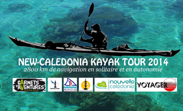 Project visual New-Caledonia Kayak Tour 2014