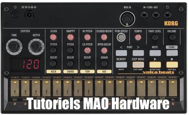 Project visual Tutoriels MAO Hardware