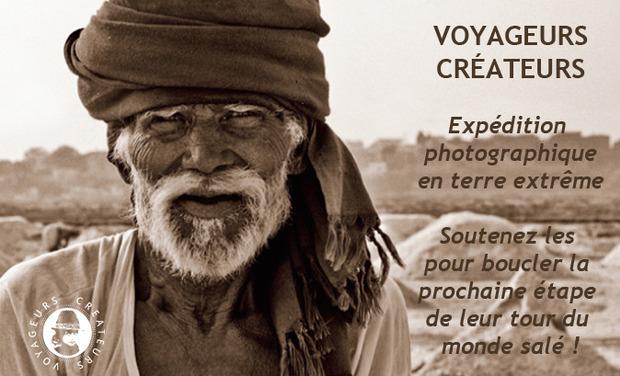 Project visual VOYAGEURS CREATEURS, Expédition photographique