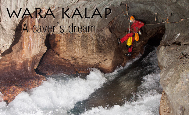 Visueel van project WARA KALAP - A caver's dream
