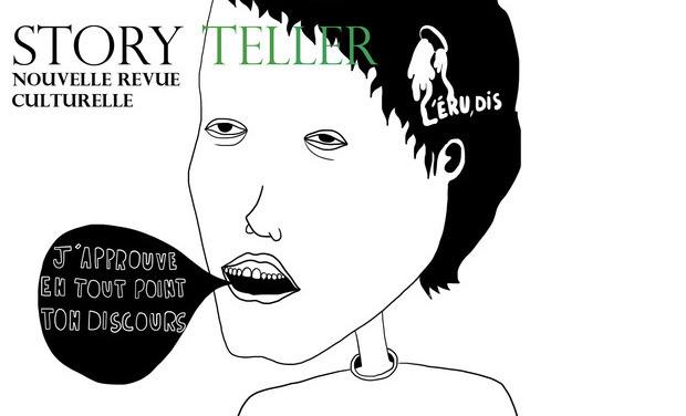 Visuel du projet STORY TELLER : Nouvelle revue culturelle