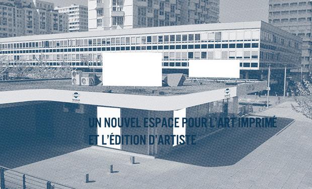 Visuel du projet Un nouvel espace pour l'art imprimé et l'édition d'artiste.