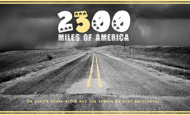 Visueel van project 2300 miles of America