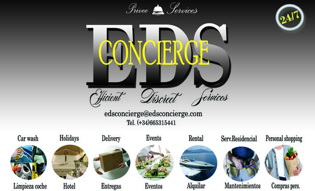 Visueel van project E&D CONCIERGE