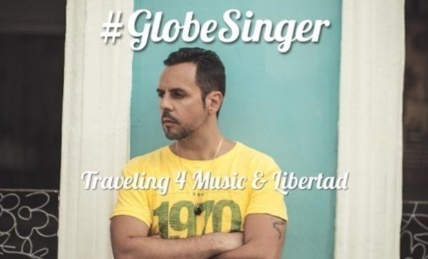 Visueel van project #GlobeSinger
