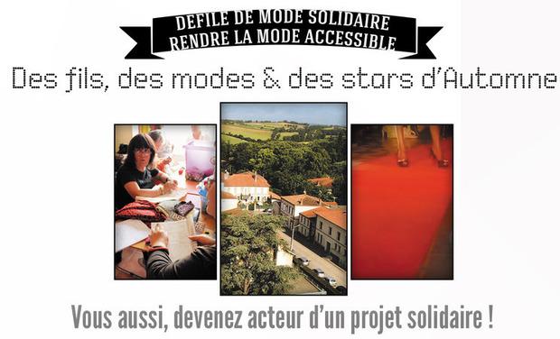 """Visueel van project Défilé solidaire """"Stars d'Automne"""""""