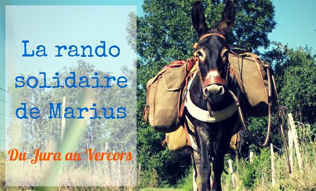 Visuel du projet La randonnée solidaire de l'âne Marius