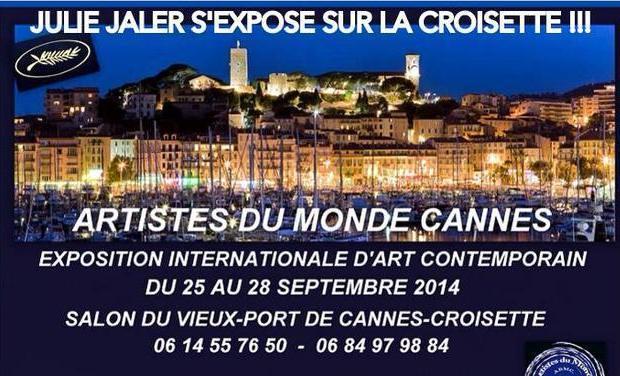 Visueel van project JULIE JALER S'EXPOSE SUR LA CROISETTE !!!