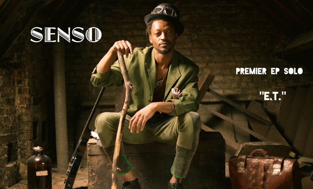 "Visueel van project Enregistrement du 1er EP solo de ""Senso"""