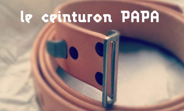 Visuel du projet Le ceinturon PAPA