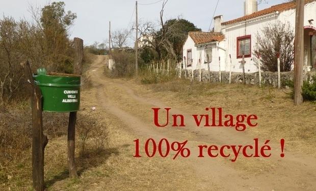 Visuel du projet Un village 100% recyclé