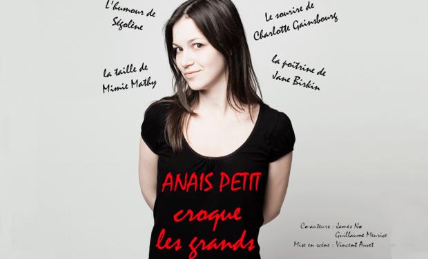 Visueel van project Anaïs Petit croque les Grands au Festival d'Avignon 2012
