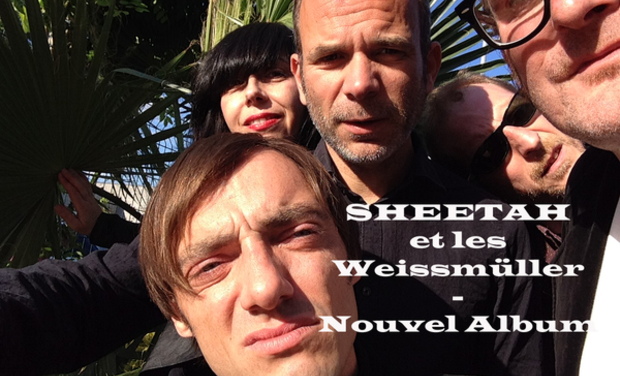 Visuel du projet SHEETAH et les Weissmüller - Nouvel Album