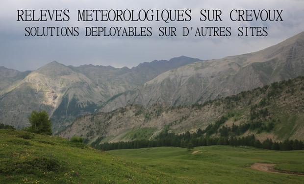 Visueel van project Relevés météorologiques sur CREVOUX (Hautes-Alpes)