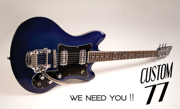 Visuel du projet Custom77 : We Need You !!