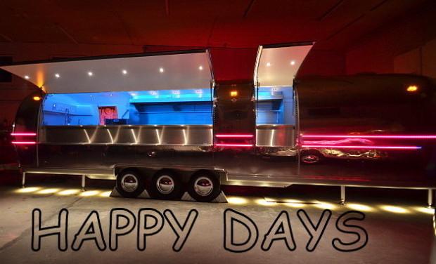 Project visual Aider à financer notre Food truck Américain vintage