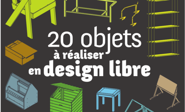 "Visueel van project Catalogue ""20 objets à réaliser en design libre"""