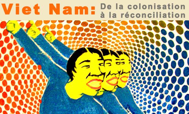 Visueel van project Vietnam-France: de la colonisation à la réconciliation.
