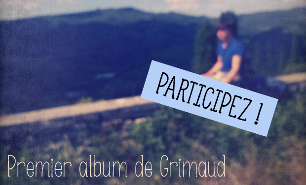 Visueel van project Premier album de Monsieur Grimaud