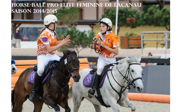 Project visual Championnat Pro Elite Féminine Horse-Ball