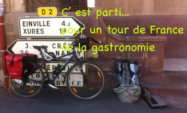 Visuel du projet Le tour de France des chefs