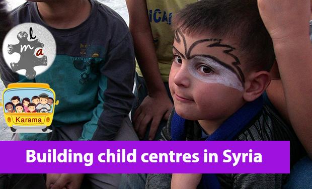 Project visual Des centres pour enfants en Syrie