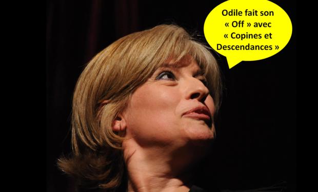 """Visuel du projet Odile fait son Off avec """"Copines et Descendances"""""""
