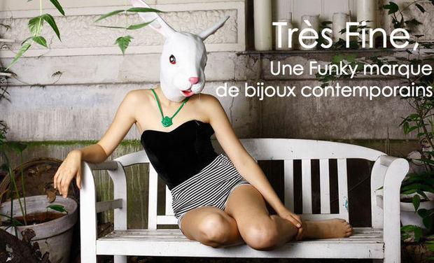 Visuel du projet Très Fine, une marque française de bijoux contemporains