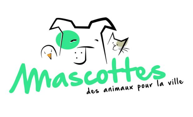 Project visual Mascottes des animaux pour la ville : l 'animalerie au coeur de la ville