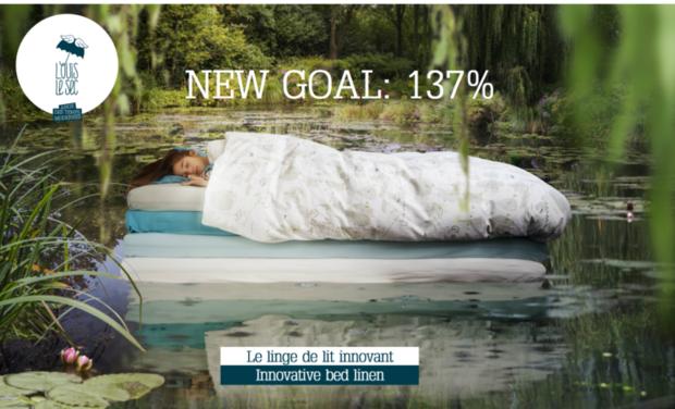 Visuel du projet Louis Le Sec, le linge de lit innovant