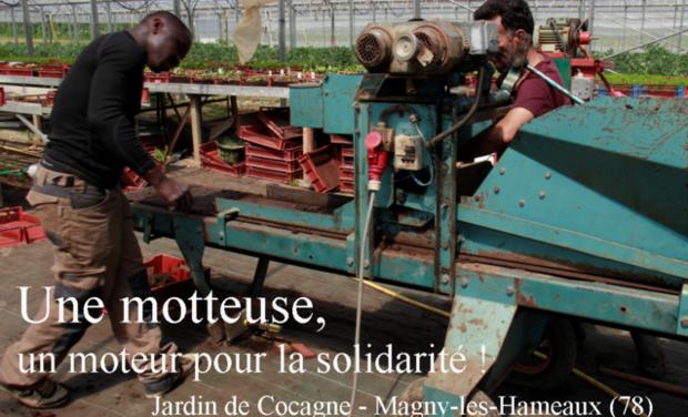 Visuel du projet Une motteuse, un moteur pour la solidarité !