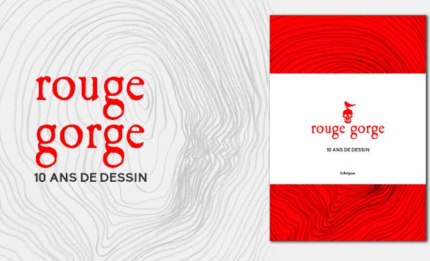 Visueel van project Rouge Gorge, 10 ans de dessin