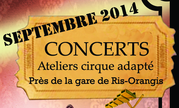 Project visual CONCERTS / ATELIERS CIRQUE ADAPTE