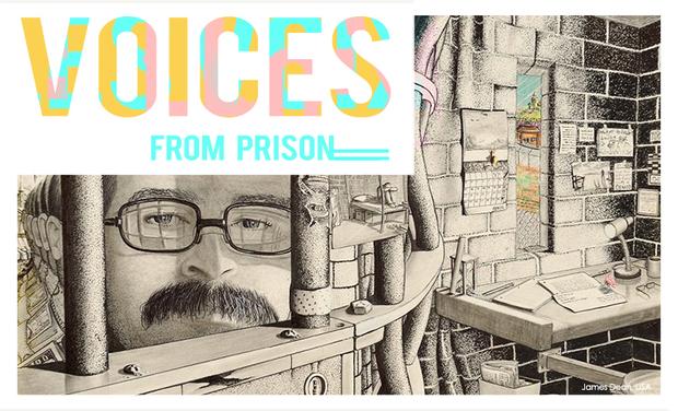 Project visual Les voix de l'univers carcéral